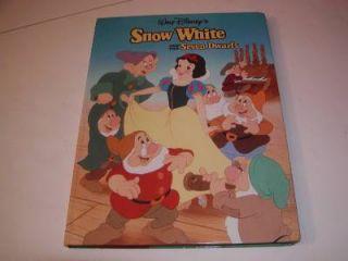 "Vintage Walt Disney's Classic Series ""Snow White"" Hardcover Storybook 1993"