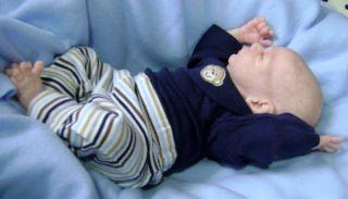 Micro Preemie Reborn Baby Twin Boy Doll Rosebud Sculpt by Cindy Musgrove