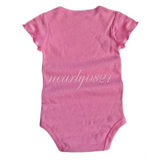 3pcs Infant Kids Baby Girls Headband Romper Skirt Jumpsuit Outfit Clothes Sz 18M