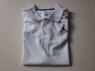 Nike Air Jordan Boys Youth Short Sleeve Dri Fit Polo Shirt Clothes Top s M L XL