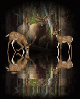 Humorous Redneck Deer Hunter Hunting Wedding Camo Cake Topper