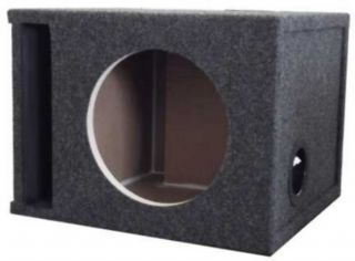 """12 Single Labyrinth Vented Subwoofer Box 1 86 CU ft Air Space"