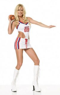 Sexy Football Girl Halloween Costume Uniform Outfit Adult Woman 83062