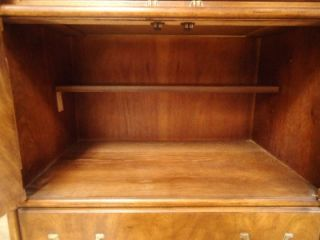 Drexel Accolade II Fine Furniture Entertainment Bar Shelving Cabinet