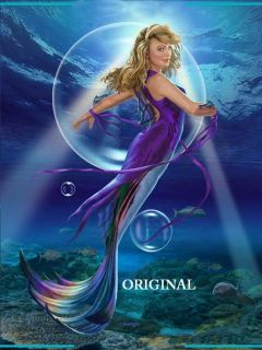 Water Dancer Cross Stitch Pattern Mermaid Fantasy TBB
