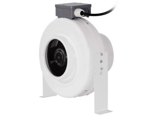 """6"""" Inline Duct Fan Blower Hydroponic Grow Room Air Vent Exhaust 4 Carbon Filter"""