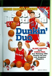 2012 Sports Illustrated Kids w Cards Chris Paul Blake Griffin The Dunking Duo