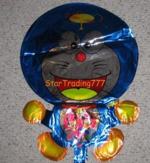 Doraemon Blue Mylar Foil Balloons Party Birthday