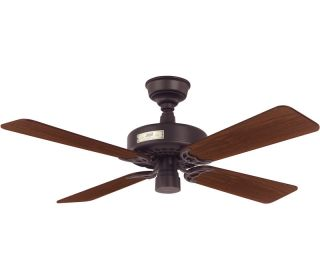"Hunter 22289 Classic Original New Bronze Energy Star 42"" Ceiling Fan"