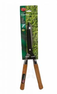 Ambassador Wooden Handle Garden Hedge Shears Trimmer Carbon Steel New