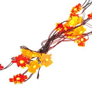 Bethlehem Lights 8ft Ultra Thin Lights Harvest Leaves s 2