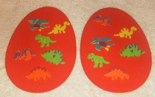 2 Foam Craft Kit Science Days Dinosaur Eggs