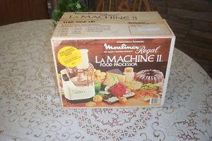 Moulinex Regal La Machine II Food Processor Model V588