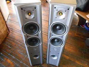 Jamo X870 Tower Floor Standing Speakers RARE and Powerful Sound