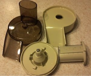Oster Kitchen Center Replacement Food Processor Parts Lid Base Chute