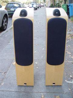 Pair of 704 Main Stereo Floor Standing Speakers Great Sound