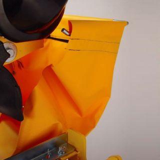 SawMaster Orange 1.5 HP 115 V 6 Blade Capacity Wet Tile Saw with Transportation Wheels