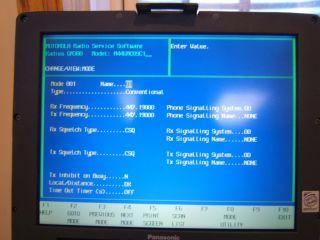 Motorola GM300 Radius UHF Radio Model M44GM009C1 GMRS FRS