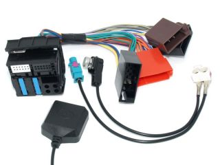 Audi RNS E Kit Plug Play Adapter Antenna Adapter GPS Antenna A3 A4 A6 TT