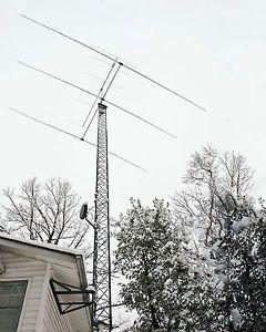 Force 12 EF 320 3 Element 20 Meter Monoband Yagi Beam Antenna 14 MHz