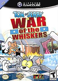 Tom and Jerry in War of The Whiskers Nintendo GameCube 2002