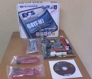 ECS G41T M2 Intel G41 LGA775 FSB 1333 2X DDR2 VGA Sound LAN SATA