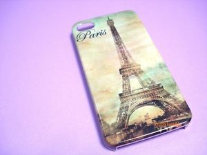 """Full"" Paris Eiffel Tower Hard Case Back Side Cover for iPhone 4 4G 4S"