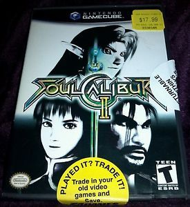 Soul Calibur II Nintendo GameCube 2003