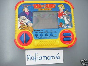 Tiger Electronics Tom and Jerry The Movie Handheld Game LCD 1993 RARE