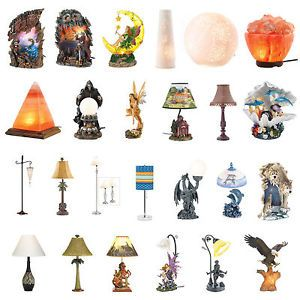 Lighting Table Lamps Night Lights Figural Shades Globes UL Recognized
