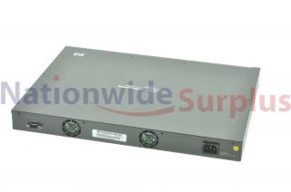 HP ProCurve H24J4900B 24 Ports Rack Mountable Switch Managed stackable