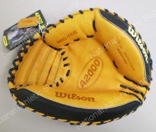 "Wilson A2403 Pudge Baseball Catchers Mitt 32 5"" RHT New"