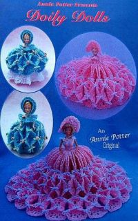 Crochet Doily Dolls Patterns Annie Potter Original
