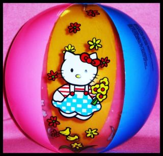 Hello Kitty Inflatable Beach Ball Party Favors Inflatables Toy Decoration