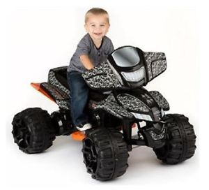 Duck Dynasty ATV 12 Volt Battery Powered Ride on Kids Toy Yard Outdoor Off Road