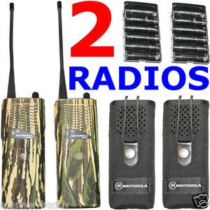 Motorola Handi com Sport Talkabout UHF FRS GMRS Handheld Two Way Radios Cases