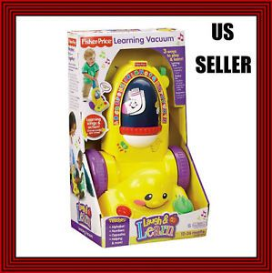 Fisher Price Kid Toddler Push Toy Vacuum Cleaner Great Toy for Toddler Kids New