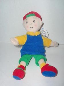PBS Kids Caillou Collectible Bean Bag Plush Toy Doll New with Tags