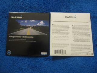 Garmin Numaps Lifetime North American Map Update Card 010 11269 02
