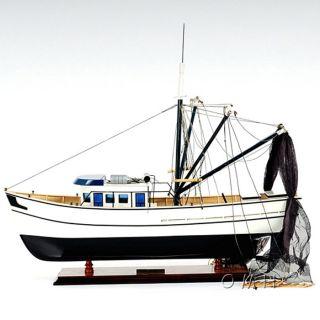 Forrest Gump Shrimp Boat Wooden Model from Brookstone