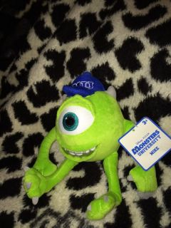 New Disney Pixar Monsters University Plush Doll Mike Wazowski Toy Monsters Inc