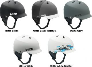 Bern Watts H20 Water Kitesurfing Hard Hat