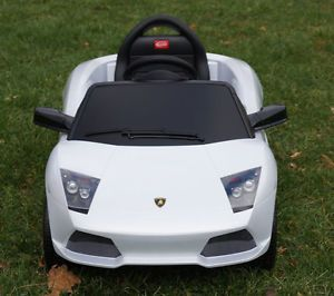 Lamborghini Ride on Toy Battery Operated Car for Kids w Remote Control