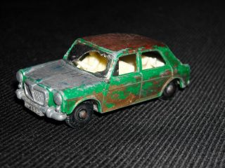 Vintage Lesney Matchbox No 64 MG 1100 Die Cast Car