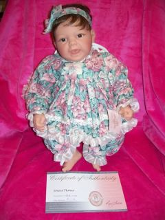 Just REDUCED Sweet Flower Retired Lee Middleton Doll