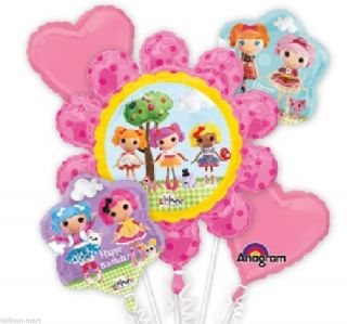 Lalaloopsy Birthday Party Supplies Balloons Bouquet Decoration Rag Doll Theme
