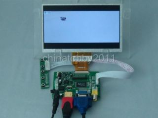 HDMI VGA 2AV Reversing Driver Board 7inch AT070TN90 800 480 LCD Display