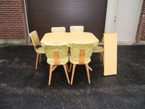 Mid Century Modern Thonet Molded Plywood Dining Chairs