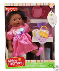 Little Mommy Sweet as Me Birthday Wishes Doll Kid's Toy