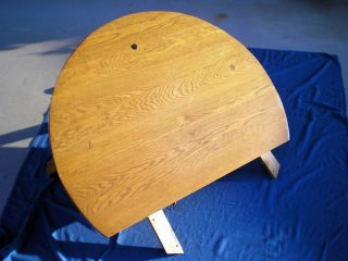 Ranch Oak Round Coffee Table A Brandt Furniture Co Mid Century for Repair